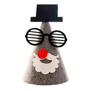 Weihnachtsdekorationen DIY Weihnachtsgeschenke Stoff dekorative Ornamente Hut