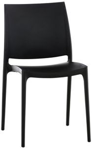 Stapelstuhl CP204, Besucherstuhl  schwarz