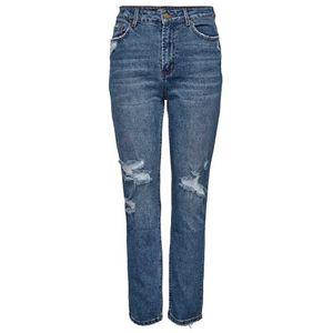 Only Emily Hw Stretch Crop Ankle Denim Mae1921 Medium Blue Denim 31
