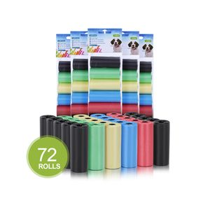 Nobleza - 1080 Stück Hundekotbeutel Haustier Große Kotbeutel für Hunde Auslaufsicher Geruchlose Extra Dick, Farbe Schwarz