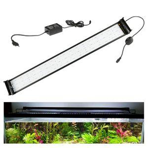 EINFEBEN LED Aquarium RGB &Vollspektrum Aufsetzleuchte Beleuchtung 95-115cm