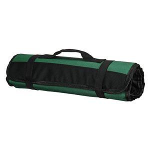 22 Taschen Chef Roll Bag Cutter Roll Tragetasche Aufbewahrungstasche Organizer Grün Farbe Grün