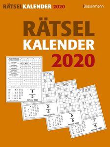 "Abreißkalender ""Rätsel"" - 16 x 21 cm"