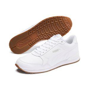 PUMA ST Runner Herren Sneaker Low Weiß Schuhe, Größe:41