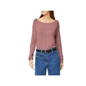Only Damen-Pullover Mila Lacy L/S Long KNT Pulli 15109964, Größe:L, Farbe:Bordeaux