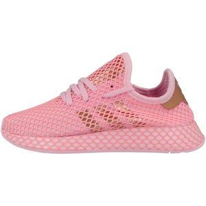 adidas Originals Turnschuhe Deerupt Runner W - Rosa / Kupfer / Pink, Größe:38