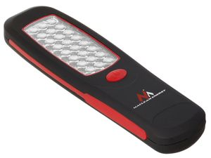 Werkstattlampe Arbeitslampe Magnet Haken 24 LED Handlampe Taschenlampe Maclean