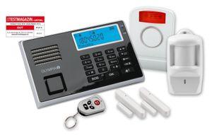 Prohome Sicherheitsset 9050, bestehend aus: Protect Alarmsystem 9030 + Aussensirene 5918 + Bewegungsmelder 5911