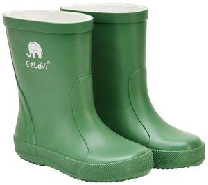 CeLaVi regenstiefel Wellies Junior Gummi grün