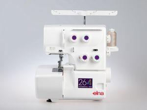 ELNA Overlock 264 - 3/4 Faden Overlock Nähmaschine