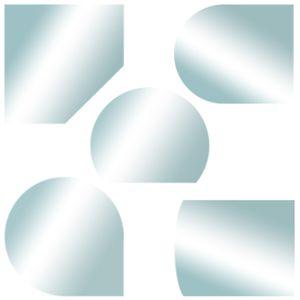 Kamin Glasplatte Bodenplatte Glasbodenplatte Funkenschutzplatte Ofen Platte versch. Formen Kingpower, Ausführung:110 x 110 cm - Tropfen, Dichtlippe:Ohne