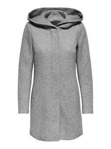 Only Damen-Woll-Mantel onlSedona Light Coat Otw 15142911, Größe:L, Farbe:Grau