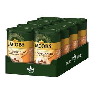 JACOBS Typ Cappuccino entkoffeiniert 8 Dosen (8 x 220 g)