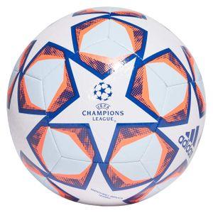 adidas Fußball UCL Finale 20 Texture Weiß / Blau / Orange 5
