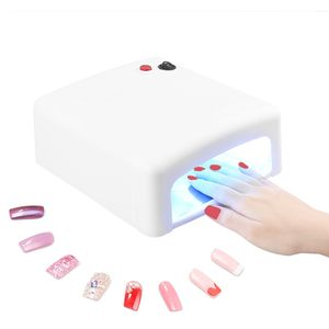 Nägel Lichthärtungsgerät UV-Lampe Gel Nägel Nageltrockner  Weiß
