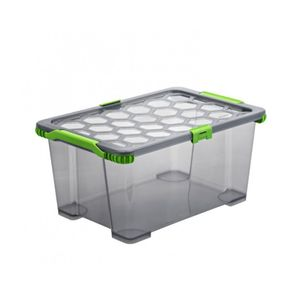 Aufbewahrungsbox Plastikbox Verschließbar Wasserdicht Luftdicht Rotho Evo Total 44 Liter