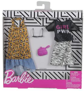 Barbie Fashions 2er-Pack Mode mit Tier-Muster