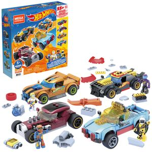 Mega Construx Hot Wheels Rennwagen Spielzeug-Set