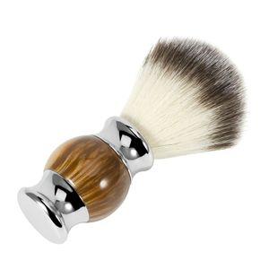 Hochwertiger Rasierpinsel Dachshaar-Rasierpinsel Naturborste Pinsel für Männer