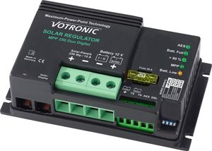 Votronic Solar-Regler MPP 250 Duo Digital 15A