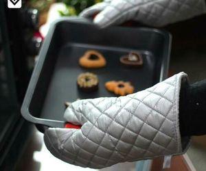 1 Paar Topfhandschuhe Ofenhandschuhe Backhandschuhe Küchenhandschuhe Baumwolle