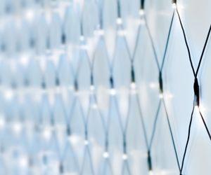 240er LED Lichternetz kaltweiß - Kabel: grün - LK016IG