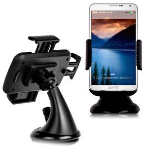 Universale Premium Handy KFZ Halterung für die Windschutzscheibe - 360 Grad drehbar, Samsung Apple iPhone Huawei
