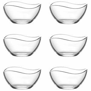 """LAV 6 teiliges Glasschalen-Set """"Serie VIRA"""" 310 ml"""