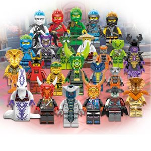 12 stücke Ninjago Pythor Mini Figuren Gebäude Spielzeug Pythor KIND SPIELZEUG Geschenk