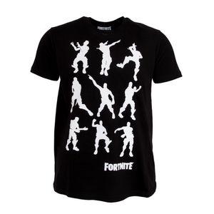 Fortnite Kinder T-Shirt Dance Moves PG155 (152) (Schwarz)