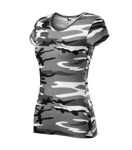 T-Shirt Furtwängler Pure camouflage grau XS Damenshirt 150g/m²