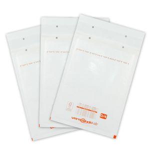 versando Luftpolstertaschen D4 200 x 275 mm 100 Stk. weiß