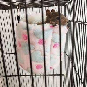 1 Stück Hamster Hängematte , Rosa wie beschrieben