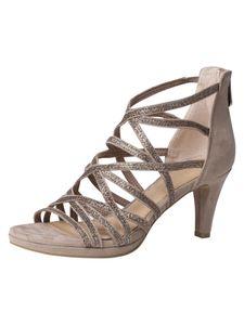 Marco Tozzi Damen Sandalette beige 2-2-28373-26 F-Weite Größe: 38 EU