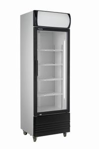 SARO Getränkekühlschrank mit Werbetafel Modell GTK 320
