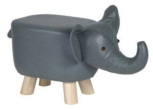 Tierhocker Elefant Kinderhocker Tier Hocker Holz Kinder Sitzhocker Elefant