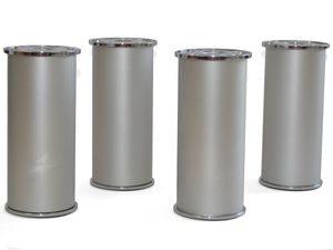 Held Möbelfüße 4Er Set, Aluminium 3040000