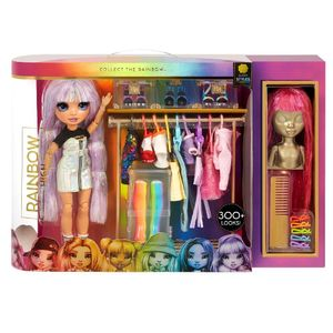 Rainbow High Fashion Studio – Exclusive Doll with Clothing, Accessories & 2