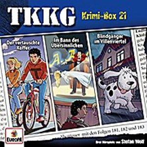 Tkkg-Krimi-Box 21 (Folgen 181,182,183)
