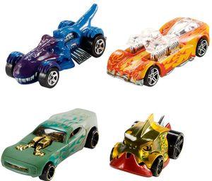Mattel Hot Wheels – Color Shifters, Auto, 1:64, Multi, farblich sortiert, 1 Stück
