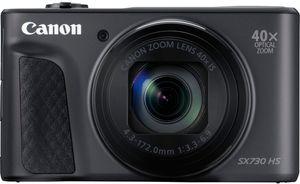 Canon PowerShot SX730 HS, 20,3 MP, 5184 x 3888 Pixel, CMOS, 40x, Full HD, Schwarz