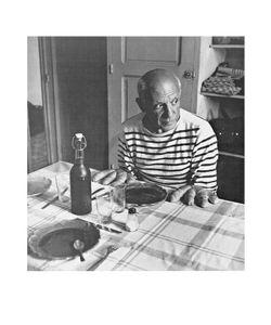 Robert Doisneau - Les Pains de Picasso Kunstdruck 50x60cm.