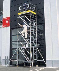 ZARGES Multitower 2DT - LM-Fahrgerüst Aufstieg Arbeitshöhe 10,35 m