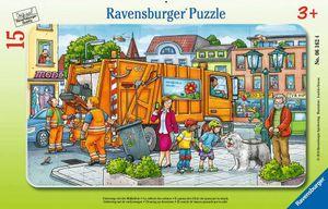 Unterwegs mit der Müllabfuhr Ravensburger 06162