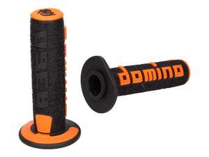 Griffe Satz Domino A360 Off-Road schwarz / orange