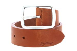 MUSTANG Woman´s Leather Belt 4.0 W80 Amber Brown