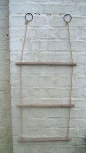 Leiterregal, Küchenregal, Wandhalter, Holz Utensilienhalter Hängeregal