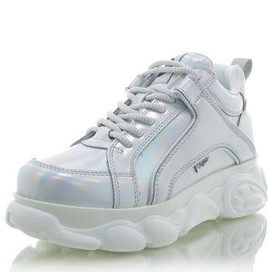 BUFFALO Corin Sneaker Nappa Polyurethansilver
