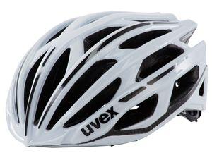 UVEX race 5 Helmet white Kopfumfang 52-56 cm