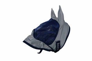 Bucas Buzz-Off Delux Mask & Ears - Blue, Größe:XXS